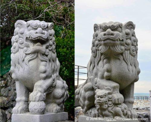 二見興玉神社の狛犬