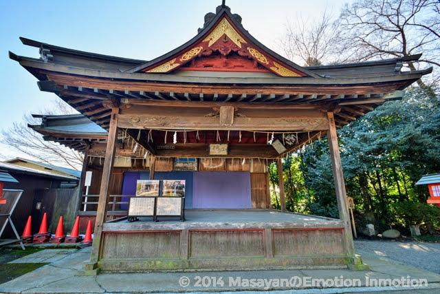 鷲宮神社/神楽殿
