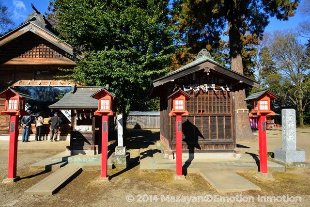 鷲宮神社/八坂神社