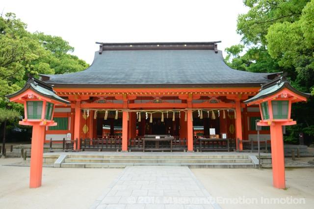 住吉神社御拝殿