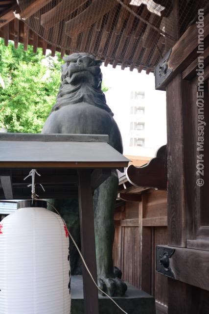 櫛田神社狛犬