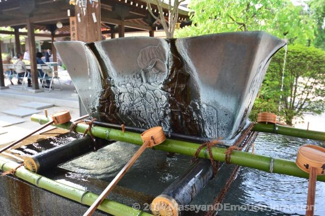 櫛田神社手水舎