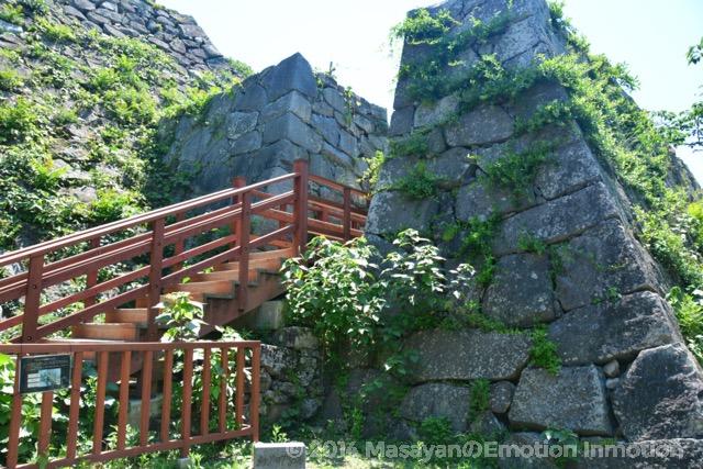 福岡城石積み