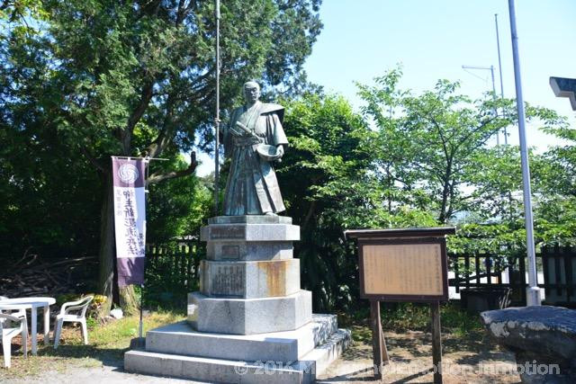 母里太兵衛の銅像