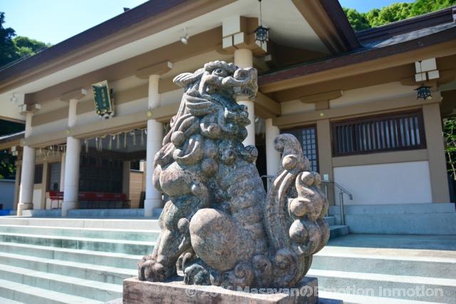光雲神社狛犬