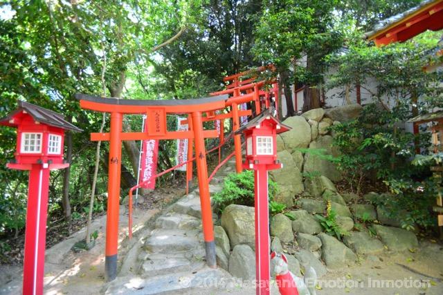 天開稲荷神社奥の院