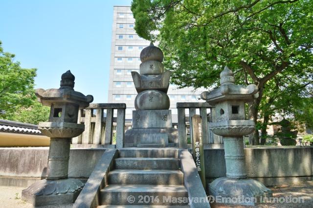二代藩主忠之墓所